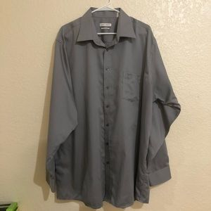 Joseph Abbound Grey Longsleeve Dress Shirt